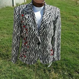 Joseph Ribkoff gorgeous jacket with embellishments
